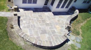 After Flagstone Patio