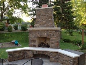 Residential Masonry Patios Backyards Spinieo